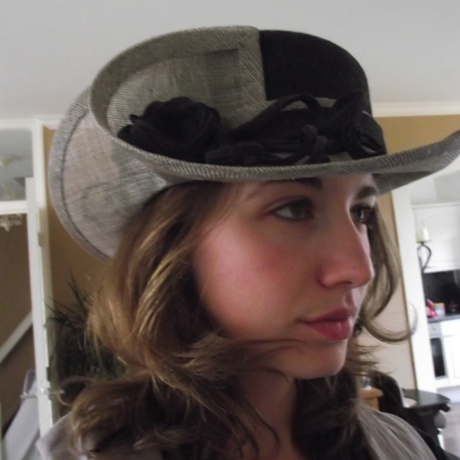 prachtige 'draai'hoed!